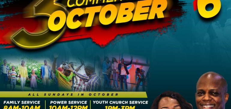 POWER PACKED SUNDAY SERVICES