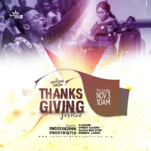 Thanksgiving Sunday Service