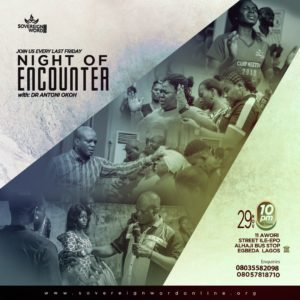 INTERNATIONAL NIGHT OF ENCOUNTER