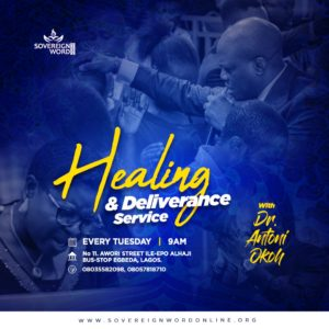 DELIVERANCE AND HEALING SERVICE