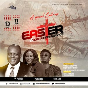 EASTER AND COMMUNION SUNDAY SERVICE