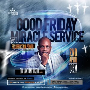 Good Friday Miracle Service