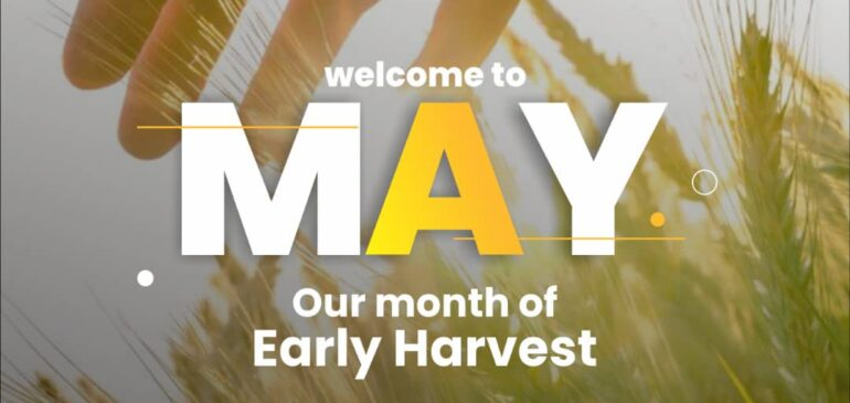 Welcome to the month of May.